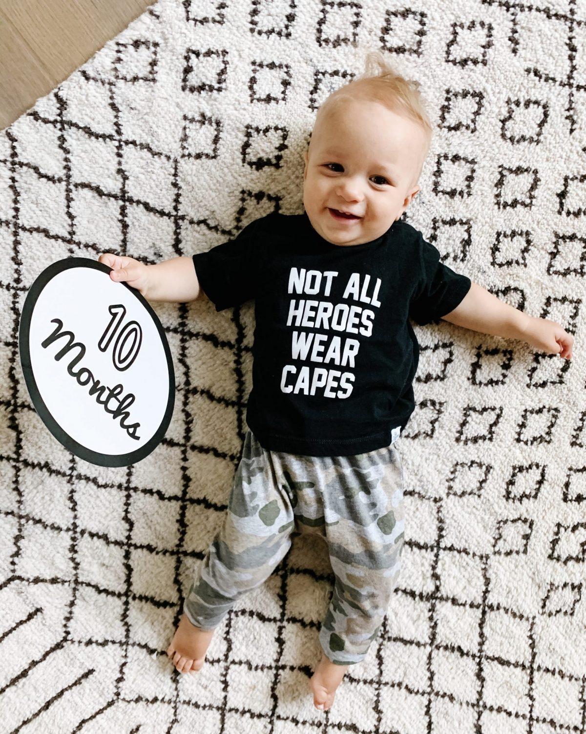 Baby Gray   10 Month Update