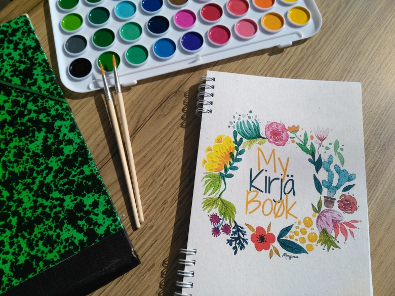 Agenda sur mesure my kirja book