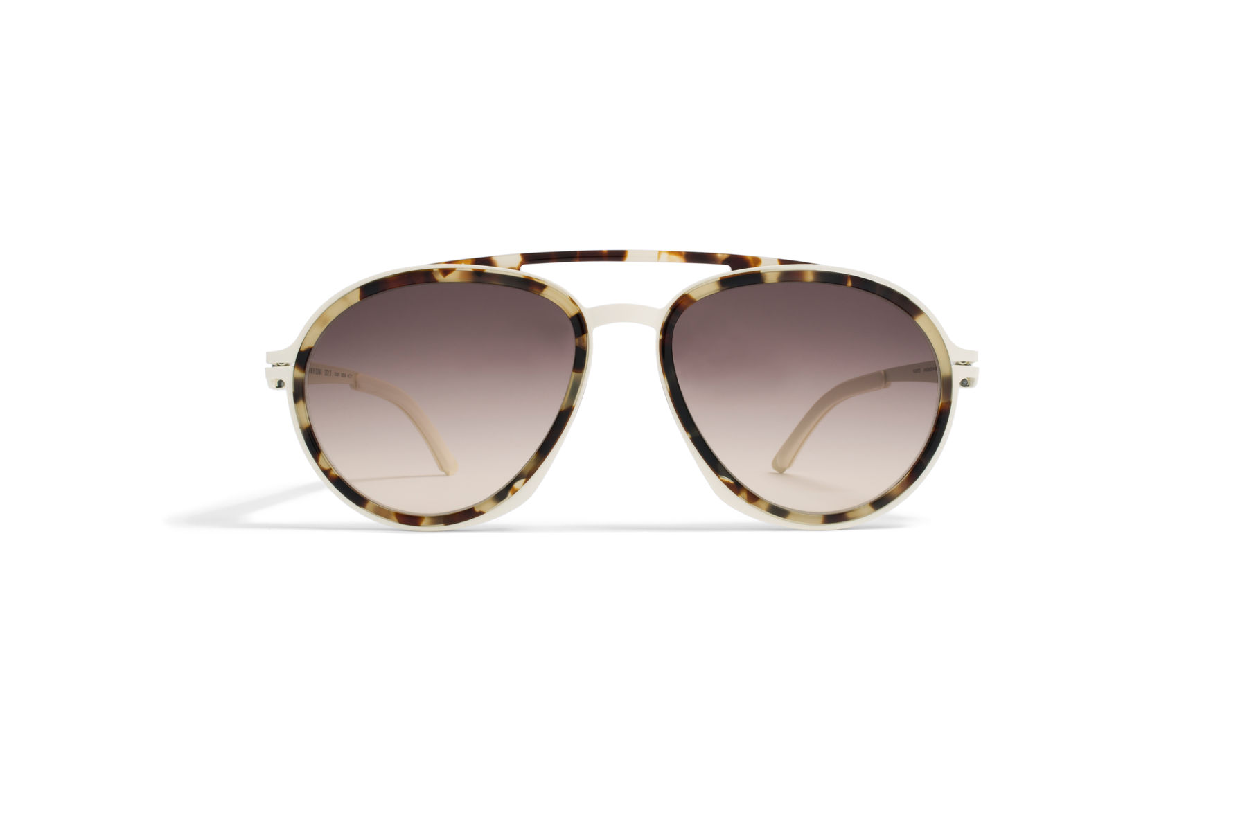 MYKITA - DAMIR DOMA / DD1.3 / Frame: A7 Off White/Chocolate Chips Lens: Brown/Brown Gradient