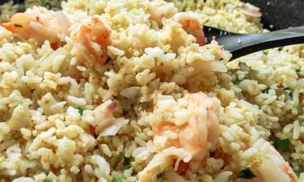 虾仁黄金炒饭-粒粒分明的家常做法