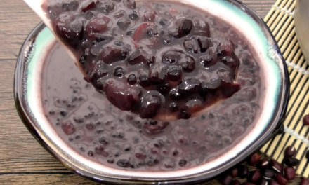 椰奶红豆黑糯米糖水