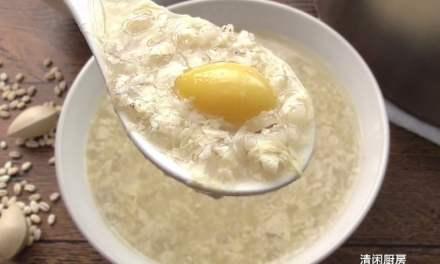 腐竹白果薏米糖水