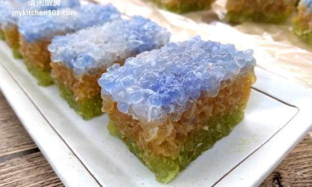 椰糖椰丝沙谷糕