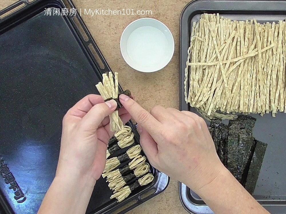香脆烤海苔鱼丝(紫菜鱼丝)