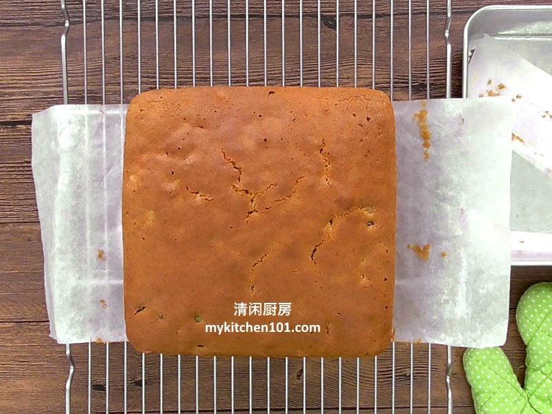 杂果牛油蛋糕