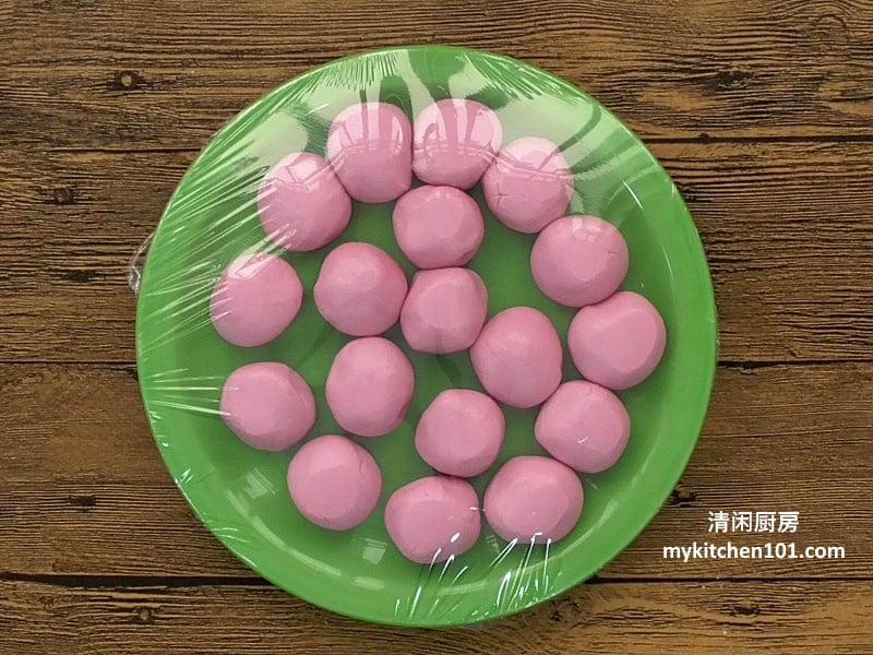 红龟糕粉团