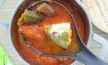 Nyonya Style Asam Pedas (Spicy Tamarind Fish)
