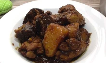 Nyonya Chicken Pongteh (Bean Paste Potatoes Chicken Stew)