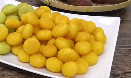 How to Make Taiwan Signature Sweet Potato Ball