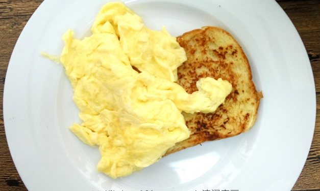 Scrambled Eggs with Garlic Bread Recipe – Favorite Breakfast Combo