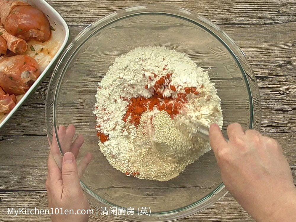 Sesame Fried Chicken Drumstick