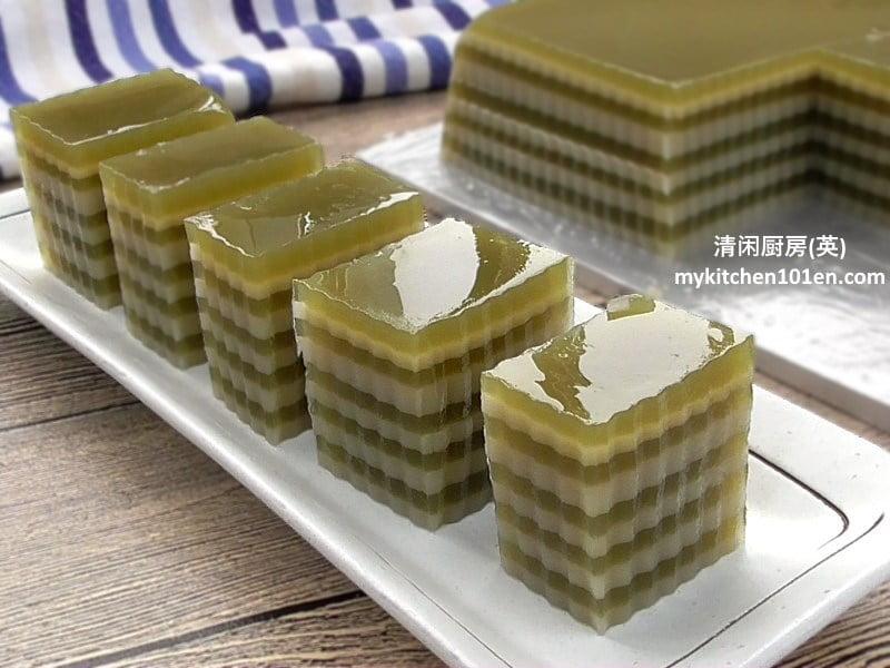 recipe: japanese green tea petits fours [5]