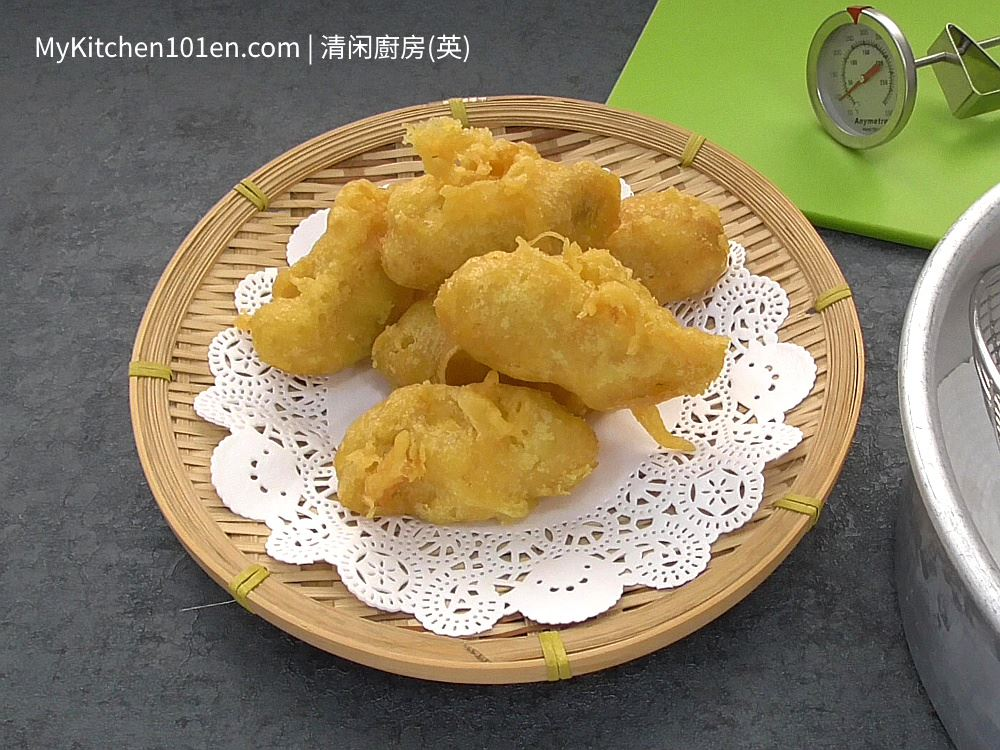 Crispy Deep Fried Banana Fritters