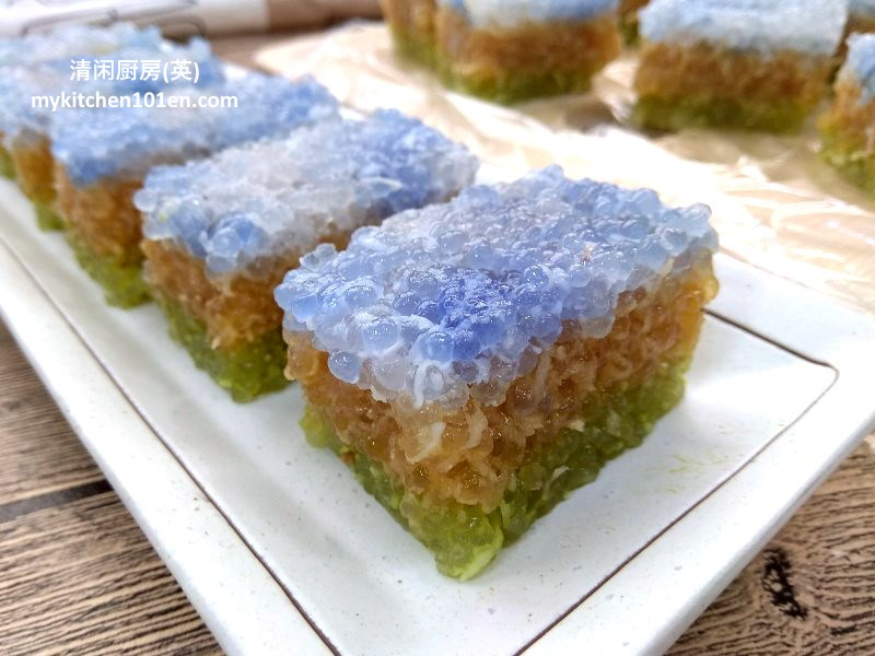 Chinese Leaf Cake Recipe