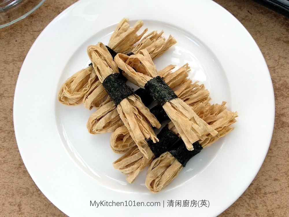 Roasted Seaweed Fish Strips Snack