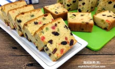 Mixed Fruit Butter Cake