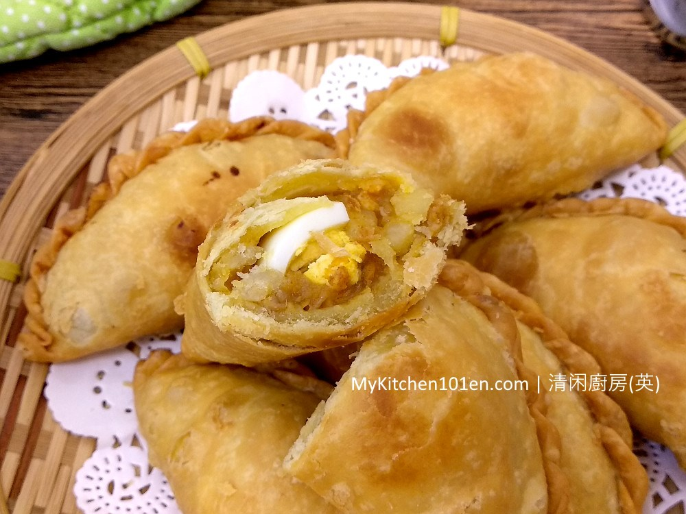 Curry Puff (Karipap) Recipe