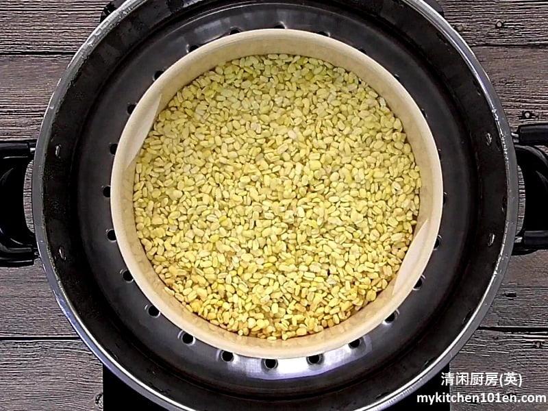 Japanese Green Tea Mung Bean Paste Filling for Mooncake
