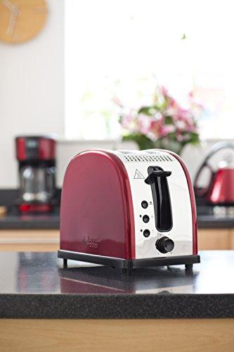 Russell Hobbs Legacy 2 Slice Toaster Metallic Red My