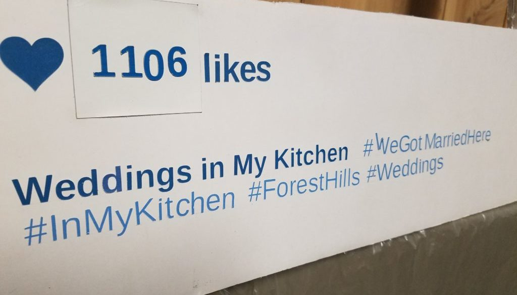 Wedding Hashtags My Kitchen Restaurant Banquet Hall And Catering