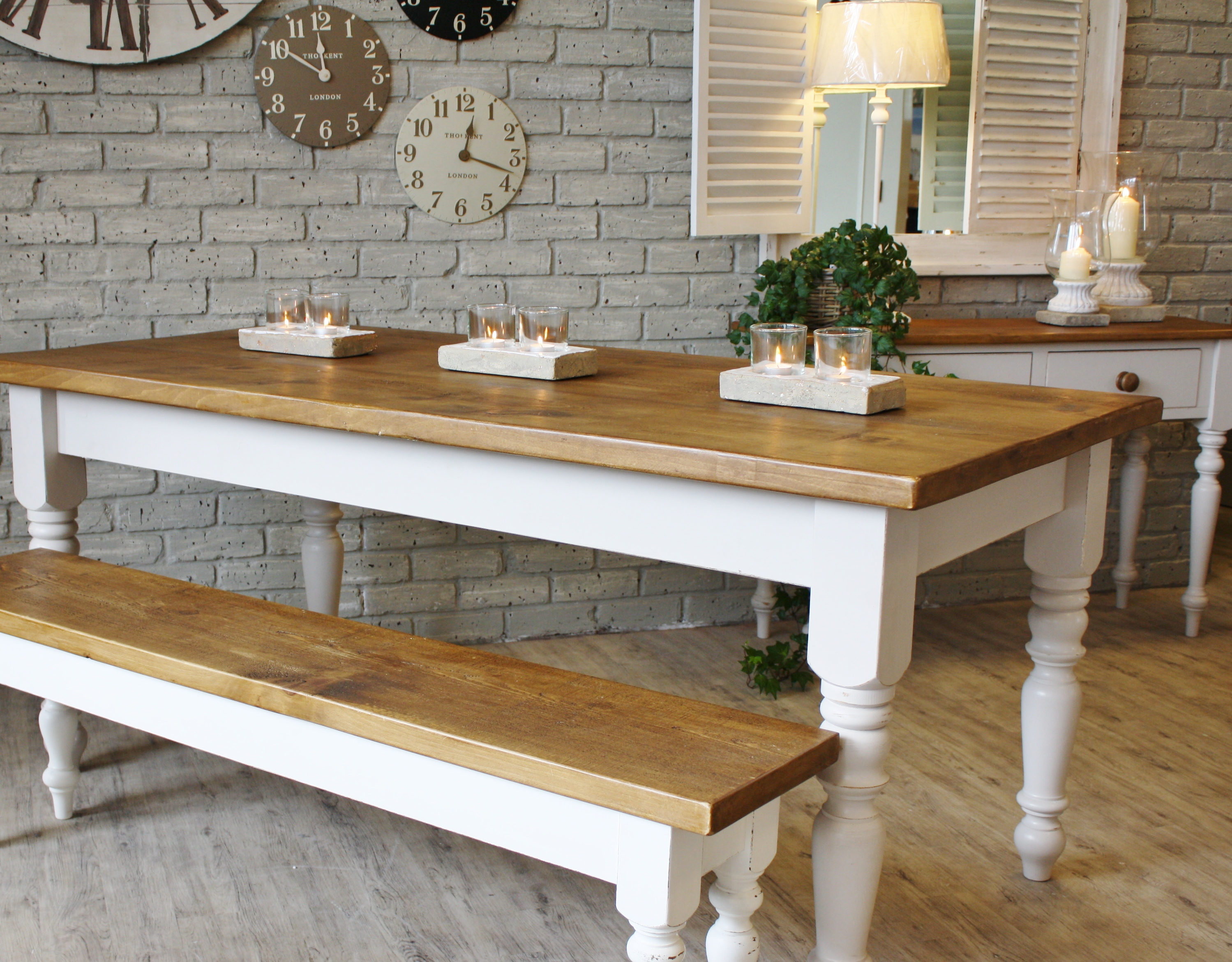 Kitchen Table With Bench Seating And Chairs Farmhouse Wooden Kitchen Tables As Ageless Rustic Interior