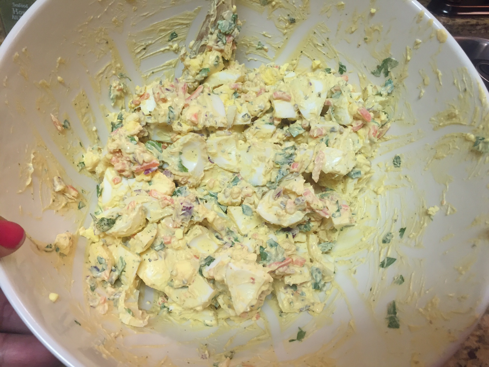 how to make the best tuna salad with eggs