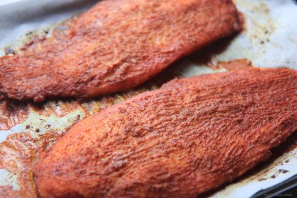 baked tandoori fish