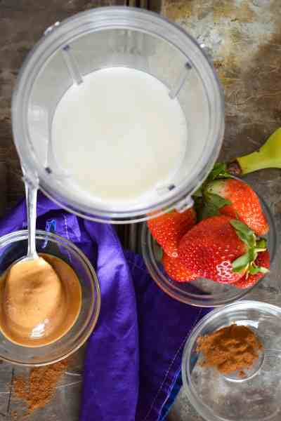 Peanut Butter Jelly Time Smoothie