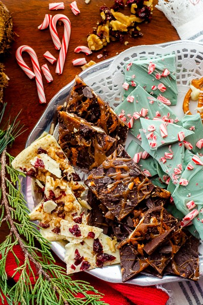 30 Minute Holiday Sweets Platter