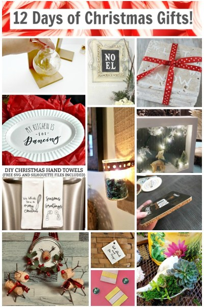 12 Days of DIY Christmas Gifts