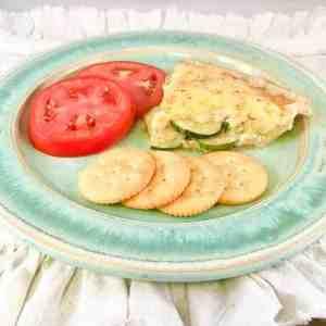 zucchini pie lifeloveandblog