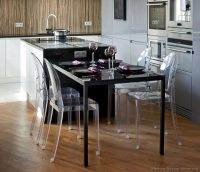 Black kitchen table and chairs Photo - 3 | Kitchen ideas