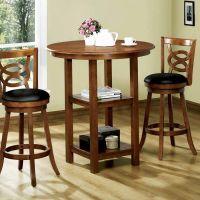 Bar height kitchen table set Photo