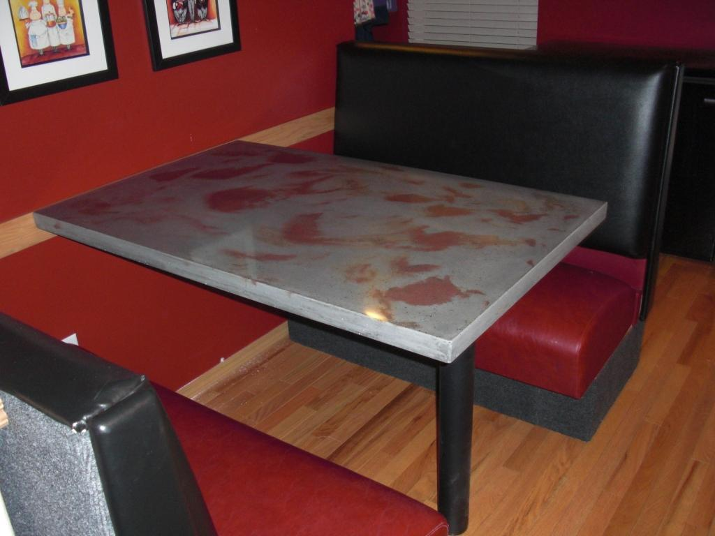 kitchen booth table step stool tables photo 11 ideas