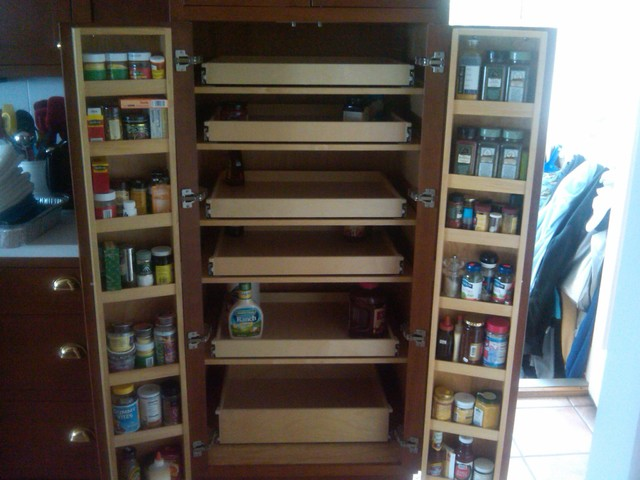 Pantry Cabinet: Pull Out Pantry Cabinets With Cabinet Pull