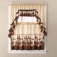 wine kitchen curtains - Home The Honoroak
