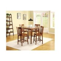 Counter height kitchen table and chairs Photo - 6 ...