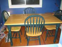 Country kitchen table and chairs Photo - 2 | Kitchen ideas
