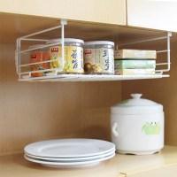 Kitchen counter organizer shelf     Kitchen ideas