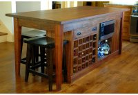 Kitchen island wine rack | | Kitchen ideas