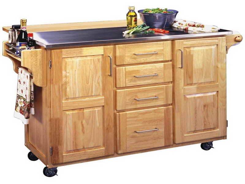 small kitchen carts on wheels wall hangings island with | ideas