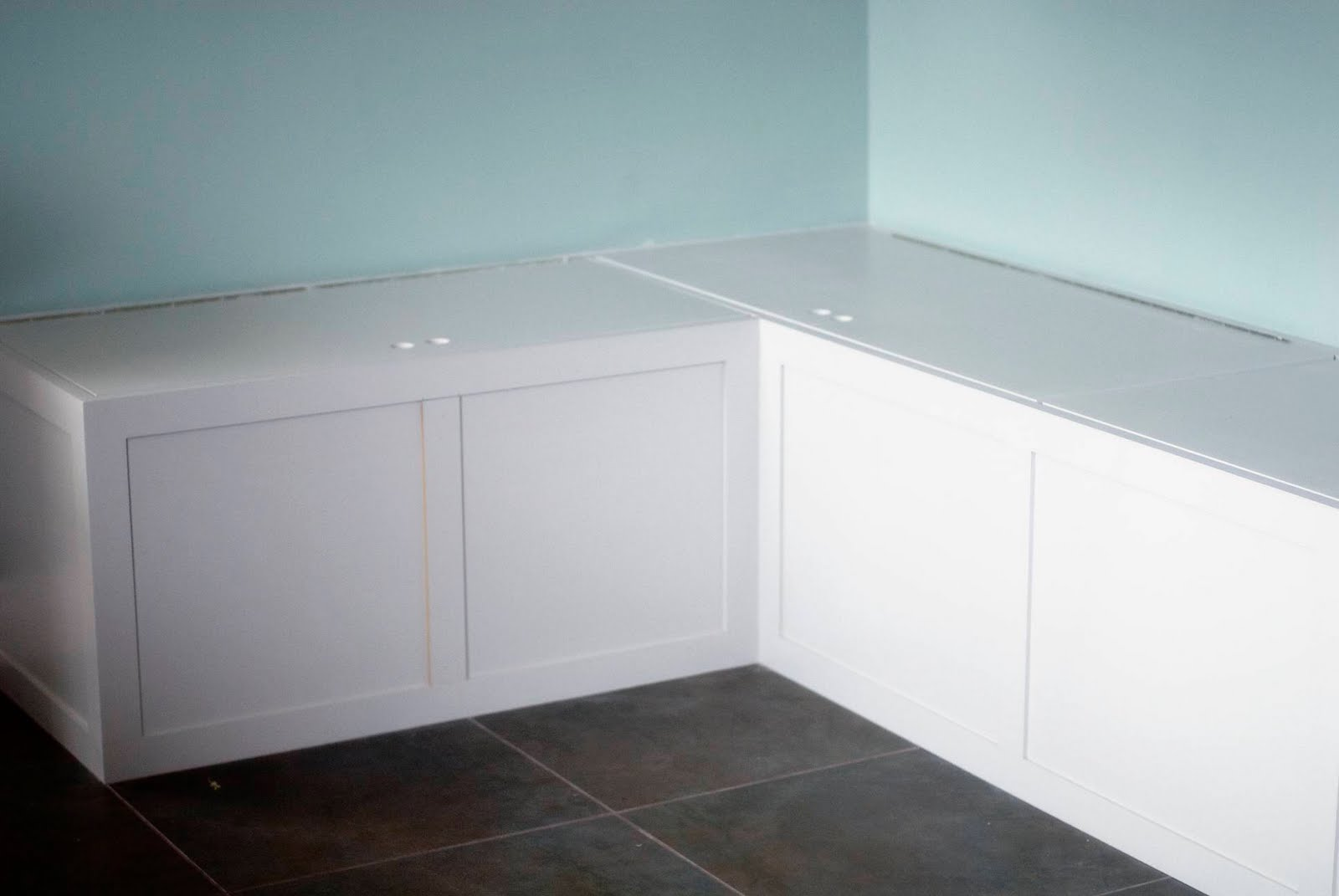 kitchen table bench seating youngstown cabinets seat ideas