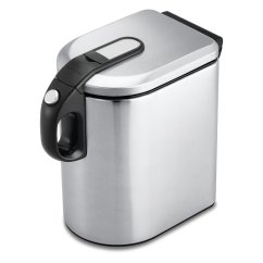 Kitchen Stainless Steel Trash Can Used Tables For Sale Cans Ideas