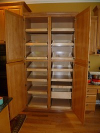 Pantry Cabinet: Large Kitchen Pantry Storage Cabinet with ...