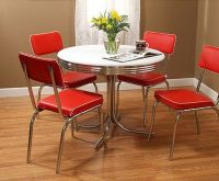 Metal kitchen table and chairs Photo - 6 | Kitchen ideas