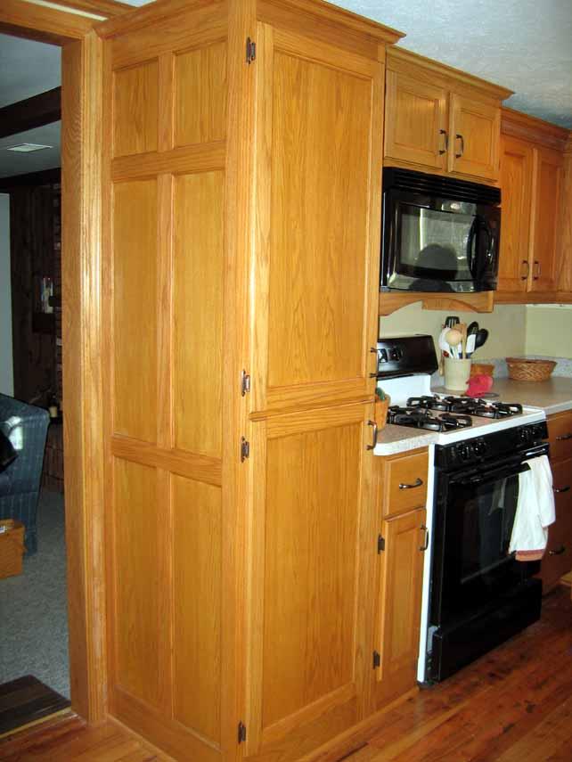Oak Kitchen Pantry Cabinet Kitchen Ideas