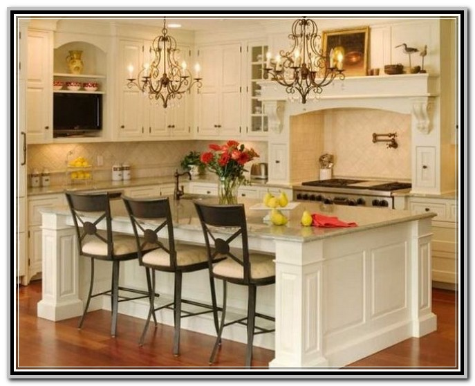 kitchen table with storage cabinets oakley sink backpack portable island seating | ideas
