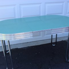 Chrome Kitchen Table Round And Chairs Set Retro Ideas