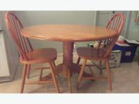 Round oak kitchen table and chairs | | Kitchen ideas