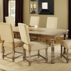 Oak Kitchen Table And Chairs Travel Trailers With Rear Round Ideas